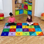 Rainbow Alphabet Carpet